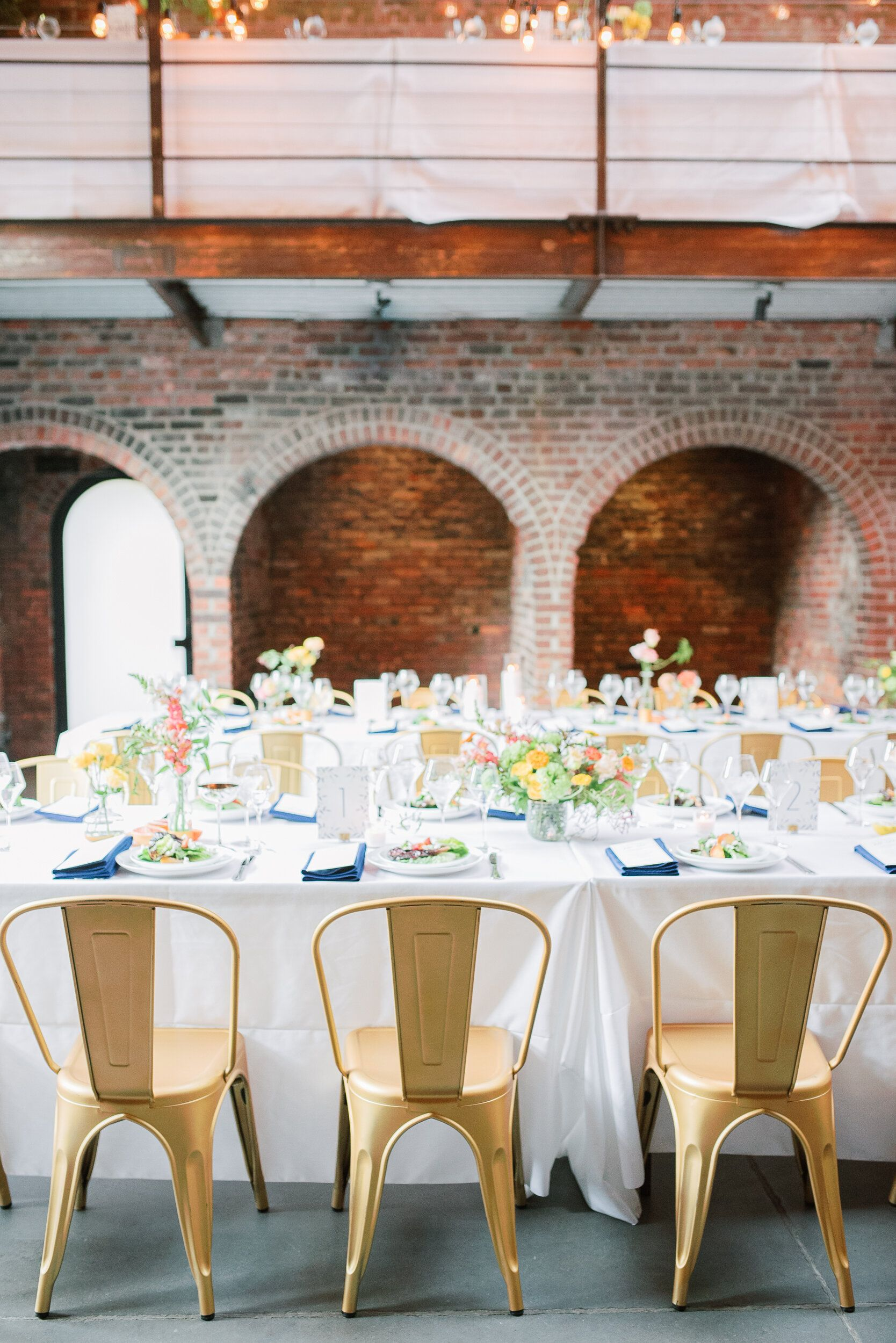 Colorful Reception at The Foundry in LIC in 2020 Nyc