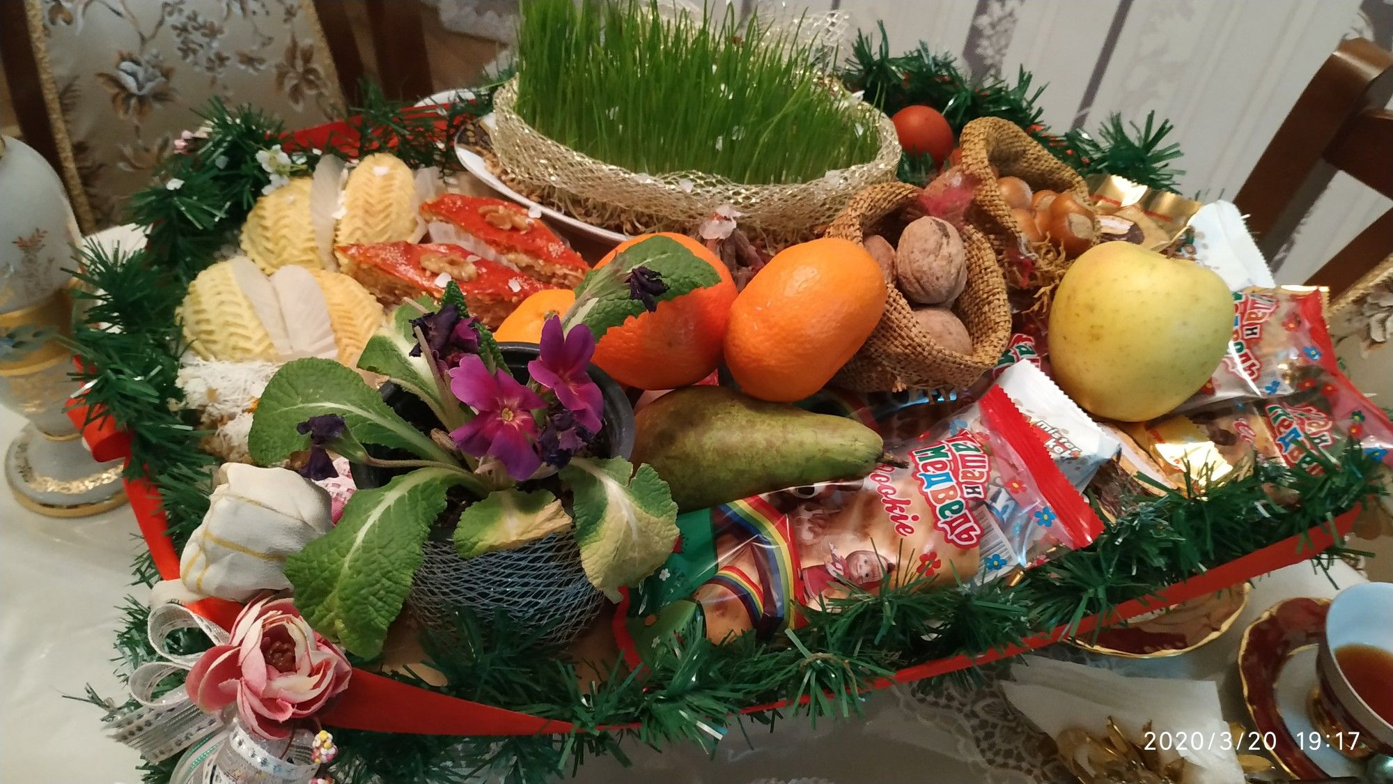 Novruz Xoncasi Table Decorations Decor Home Decor