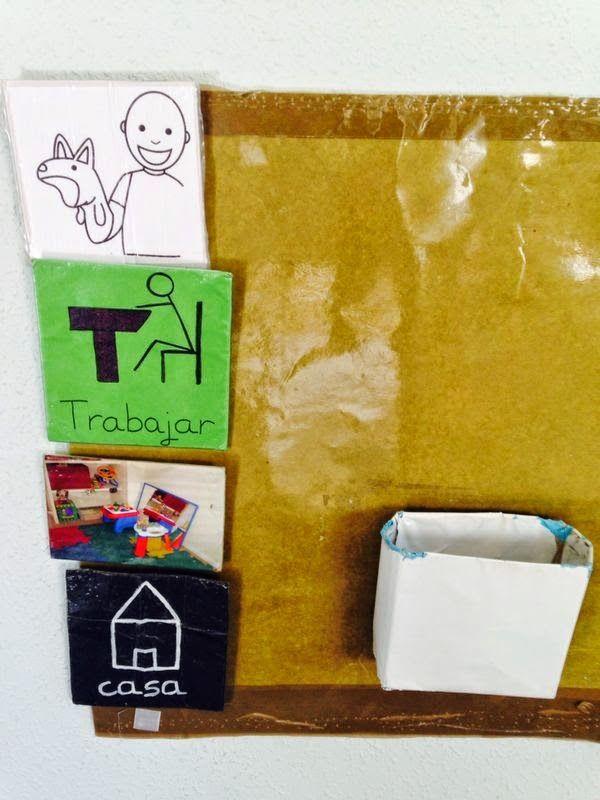 TrasTEAndo con el TEA: Lápiz, papel y al bolso!!!! (Claves visuales)