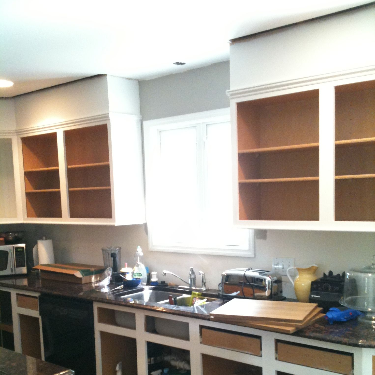 Progress pictures of a Kitchen Remodel featured