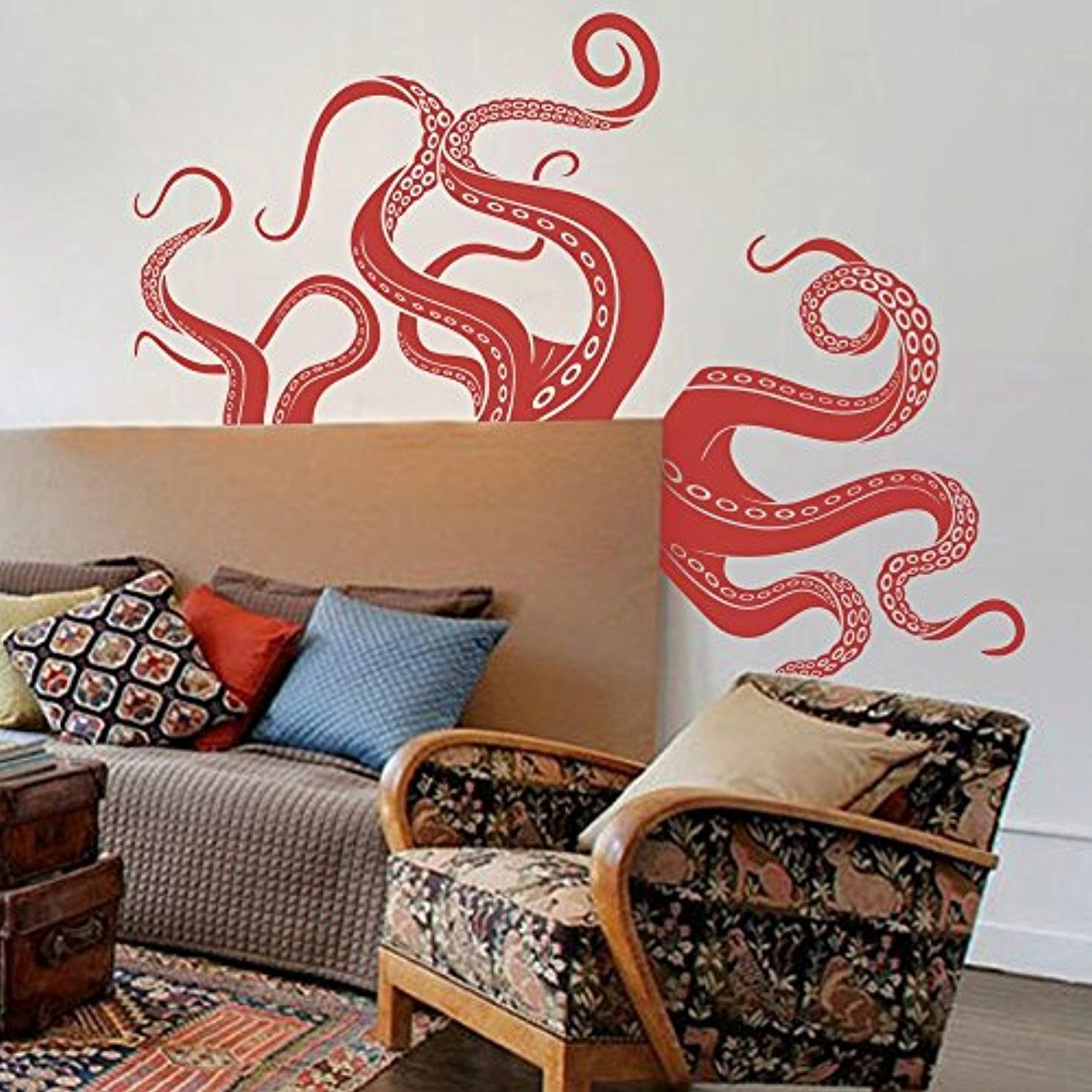Octopus Tentacles Vinyl Wall Sticker Sea Monster