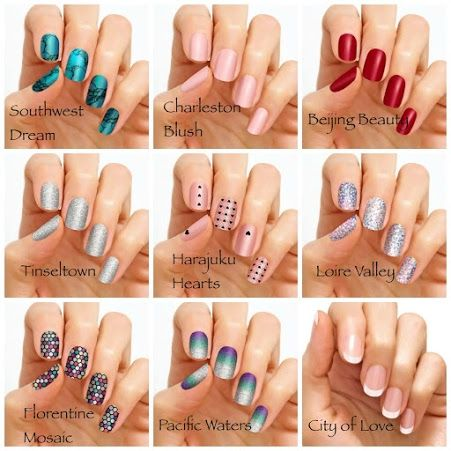 Free Accent Nail Sample From Color Street By Liz Morrissey Nailart