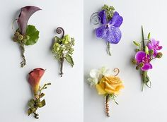 Tropical Boutonnieres