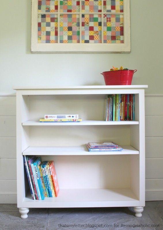 easy bookshelf with adjustable shelves great detailed tutorial rh pinterest com au