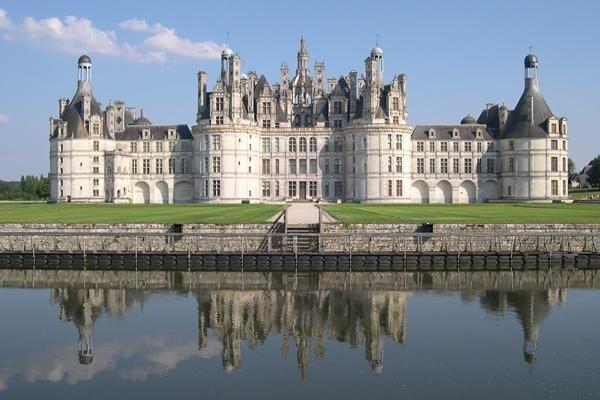 Chambord Chateaux De La Loire Desain Rumah