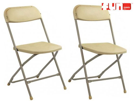 folding chair rental tan tables chairs tents party seating rh pinterest com