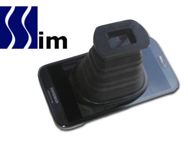 Smartphone Screen Image Magnifier by Dave Wienert