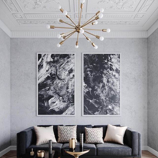 monochrome interior certainly isn t limited to the classic black and rh pinterest com