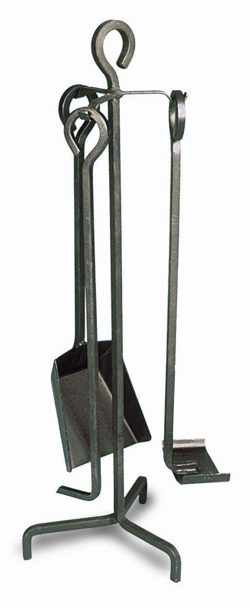 3 piece mini wrought iron fireplace tool set firewood pinterest rh fi pinterest com