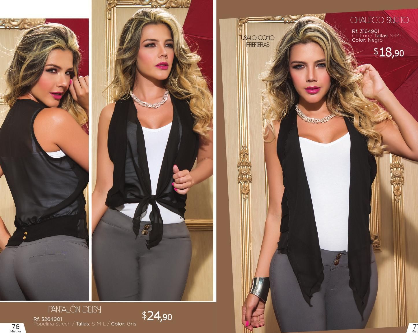 Catalogo Mistika Fashion Clothes Jackets