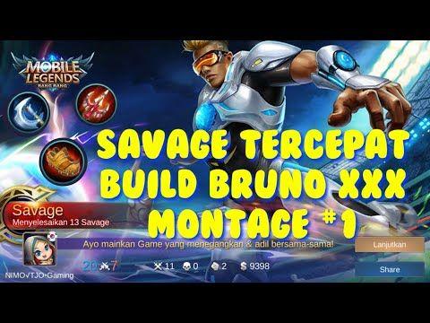 Savage Terbaik Build Bruno Tersakit 2020 Auto Savage 4000 One Hit Youtube Bruno Mobile Legends Mobile Legends Savage