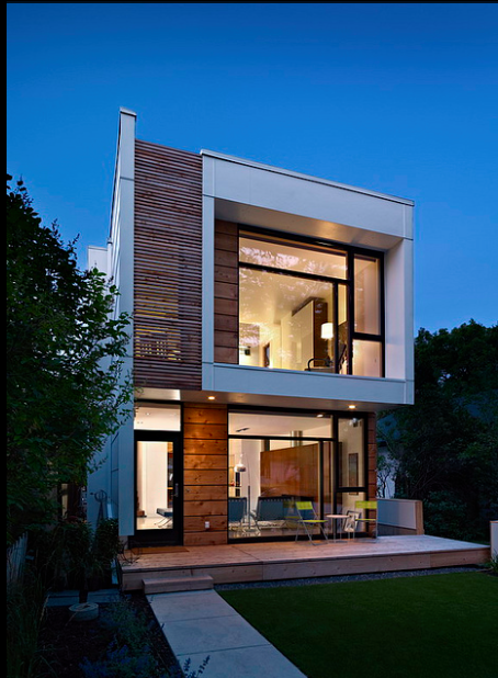 Modern House Design Philippines One Storey: Skinny House Design On Pinterest