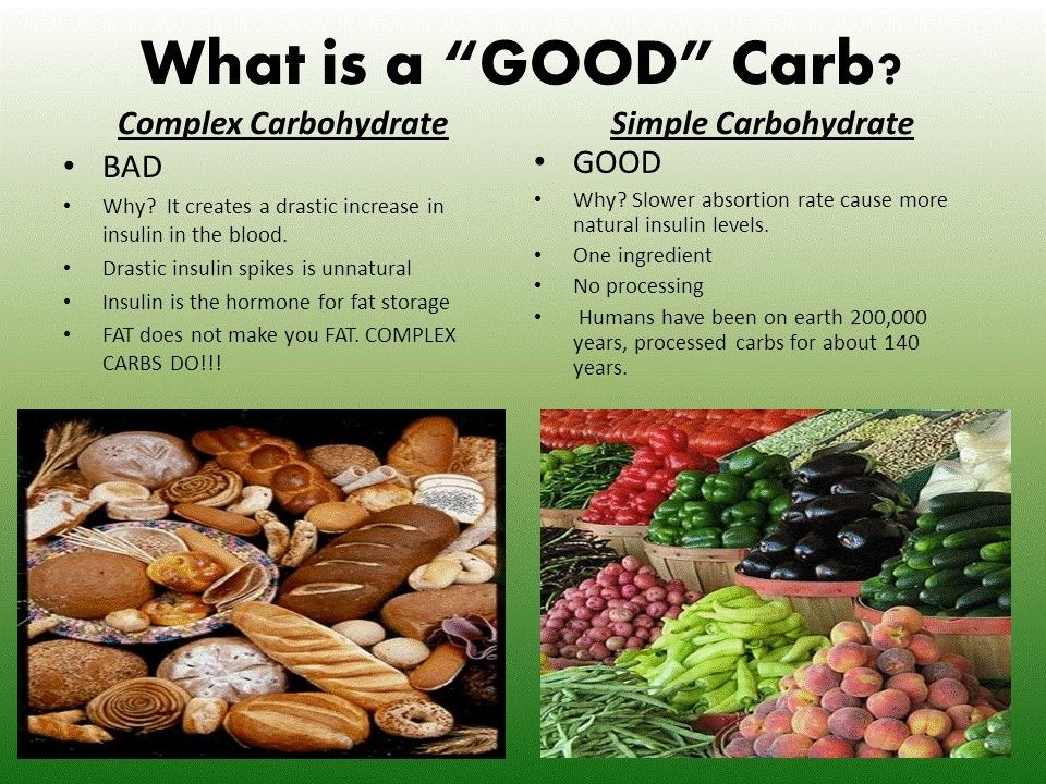 Good diabetic foods Carbohydrates