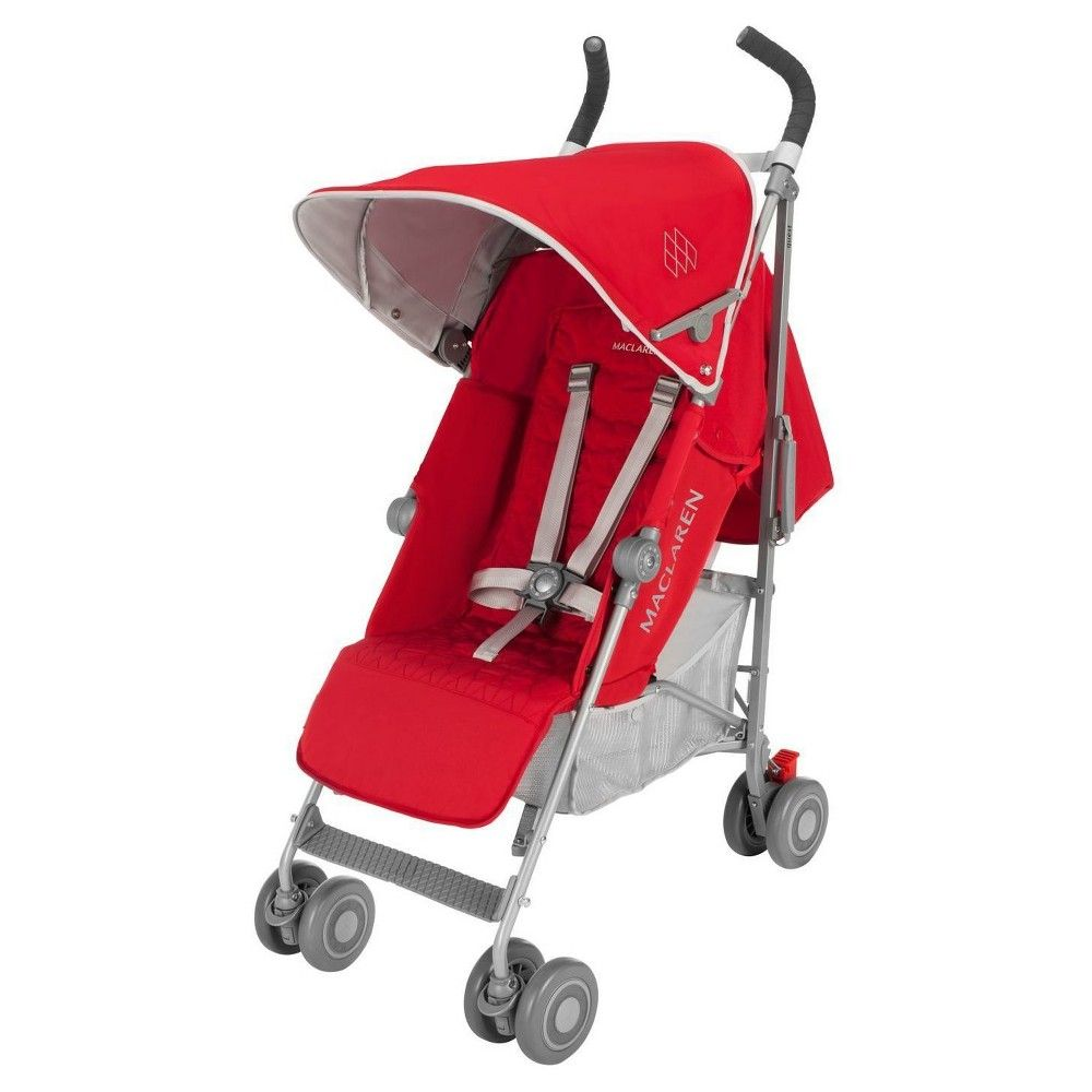 Maclaren Quest Baby Umbrella Stroller Red/Silver