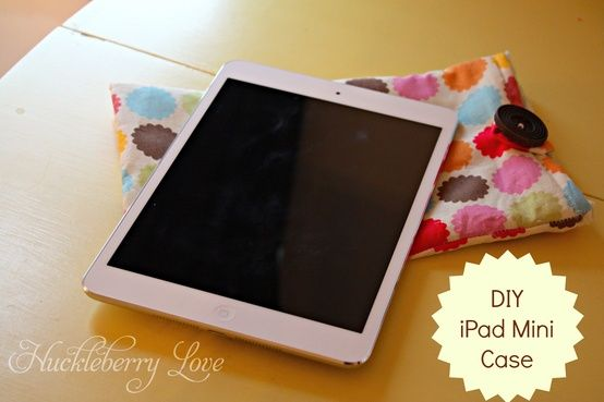 Ipad Mini Case {Tutorial}