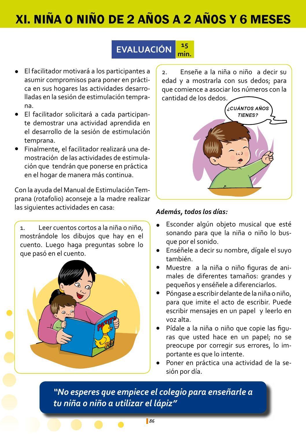 Libro Blanco Ejercicios De Estimulacion Temprana Estimulacion Bebes Orientación Escolar