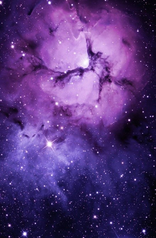 Nebulosa Morada Fondos Fondo De Pantalla De Galaxia