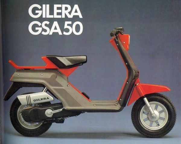 Introducing the Gilera GSA 50