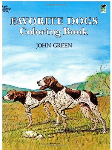 Favorite Dogs Coloring Book by Soren Robertson http://www.amazon.com ...