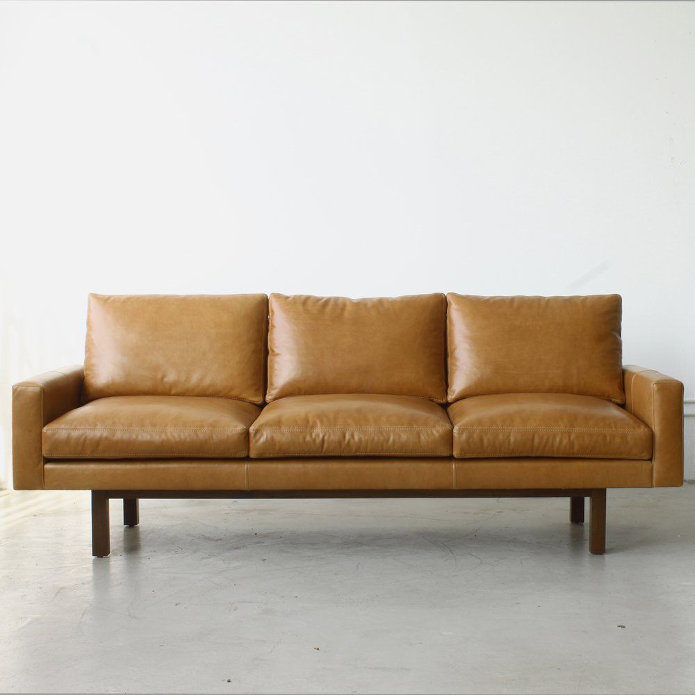 With clean and classic lines this sofa