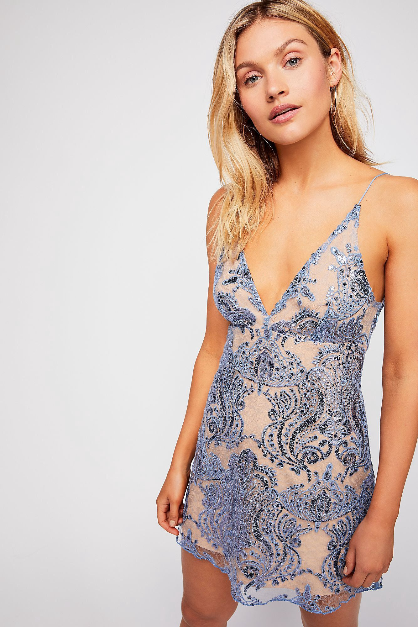 e06549f1014b Night Shimmers Mini Dress by Free People in 2019 | Products ...