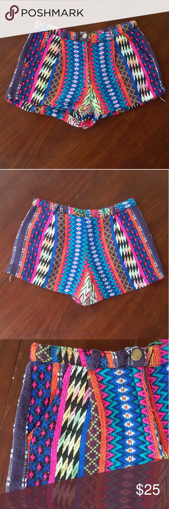 Angie tribal knitted shorts size S | Pattern shorts, Tribal patterns ...