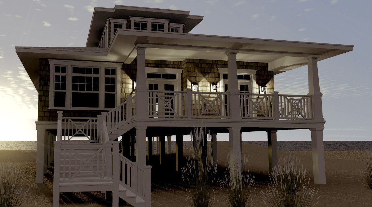 Browse beach house plans with photos Compare
