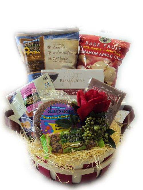 Gluten free valentines day basket this would be way better the allergy blues store has an extensive range of allergy free gift baskets and gluten free gift baskets for your friends and family that are available in a negle