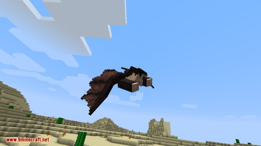Wings Mod 1 12 2 Avian And Insectoid Wings For Aerial Travel 9minecraft Net Minecraft Crafts Wings Avian
