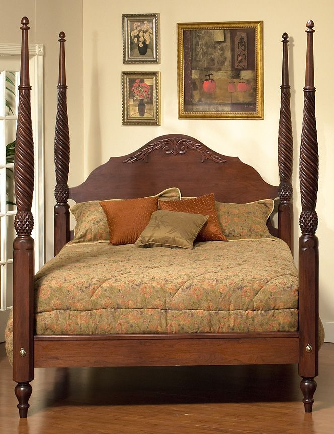 Plantation bed plymouth furniture british colonial 2 - White colonial bedroom furniture ...