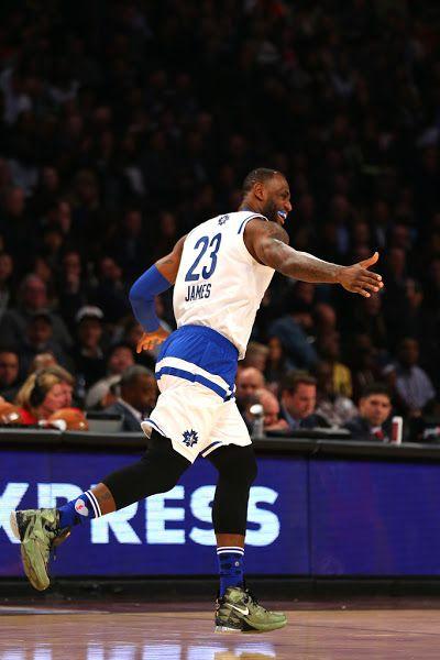 63d731711b9e King James Wears Nike LeBron 13 in 2016 NBA AllStar Game