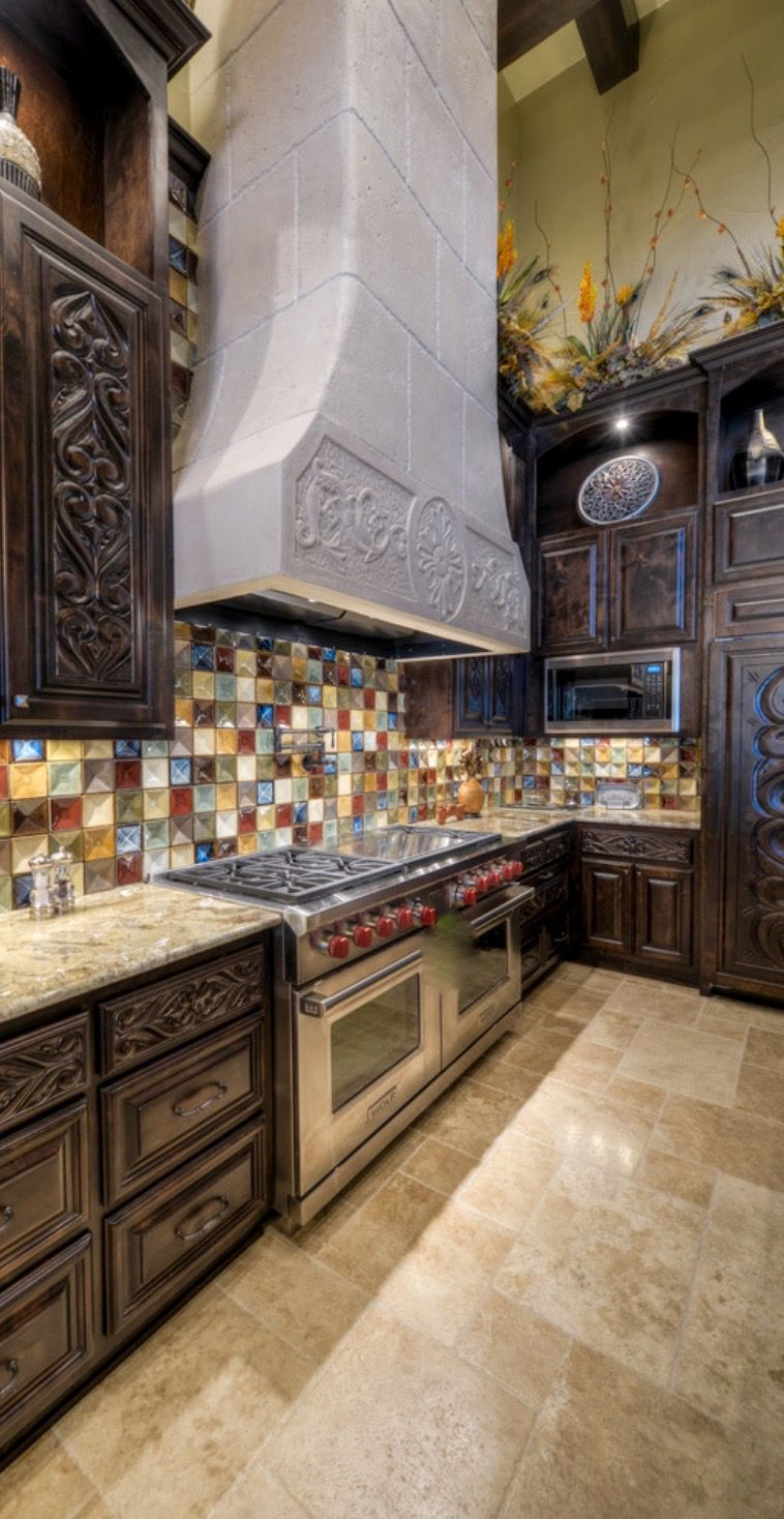 tuscan kitchen Old World Mediterranean Italian Spanish