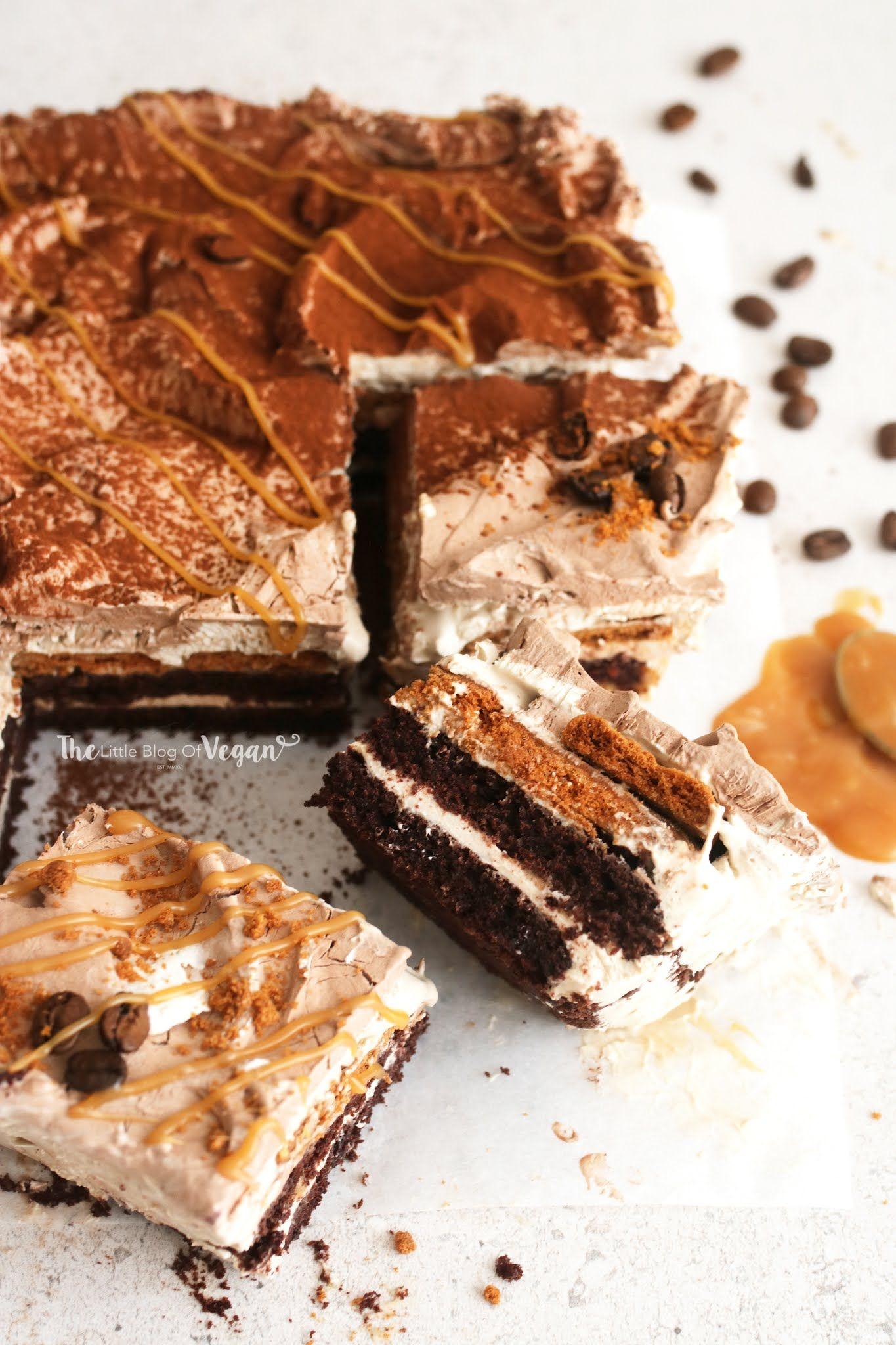 Coffee caramel dessert lasagne recipe ft natures charm