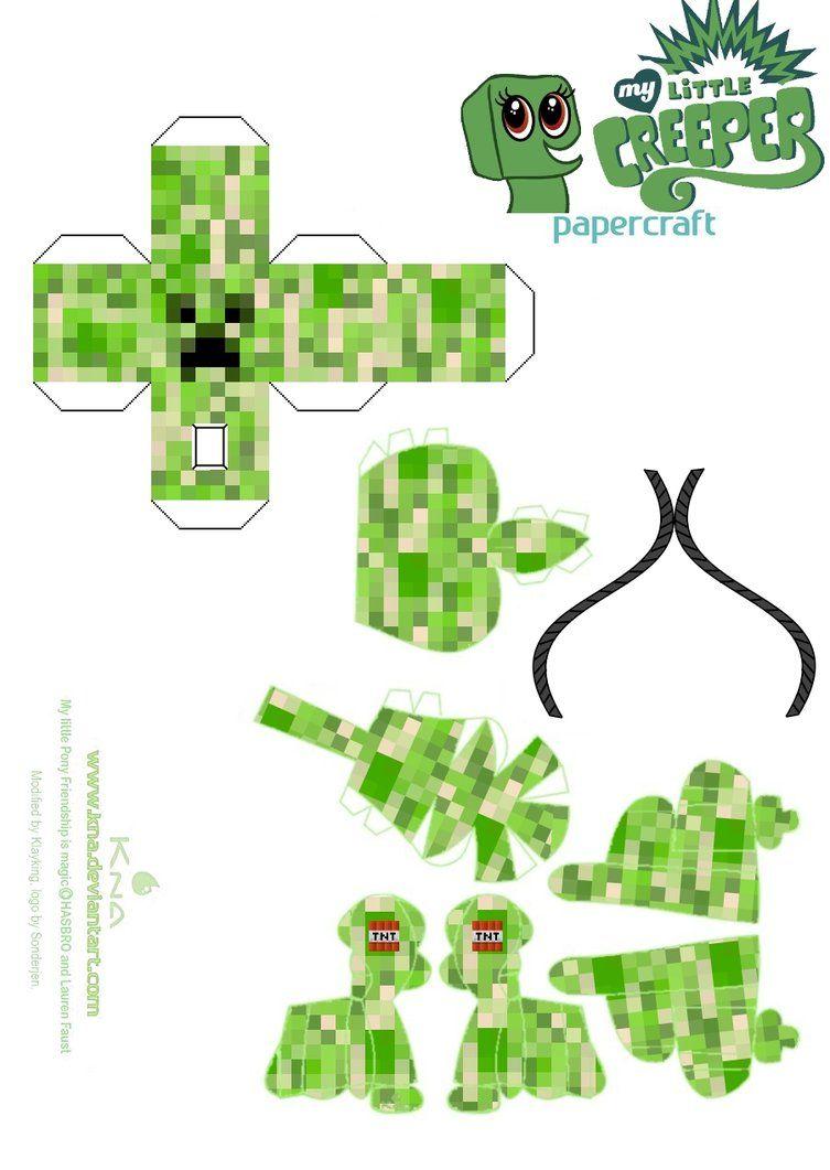 DeviantArt: More Artists Like Creeper Anatomy Papercraft Template ...