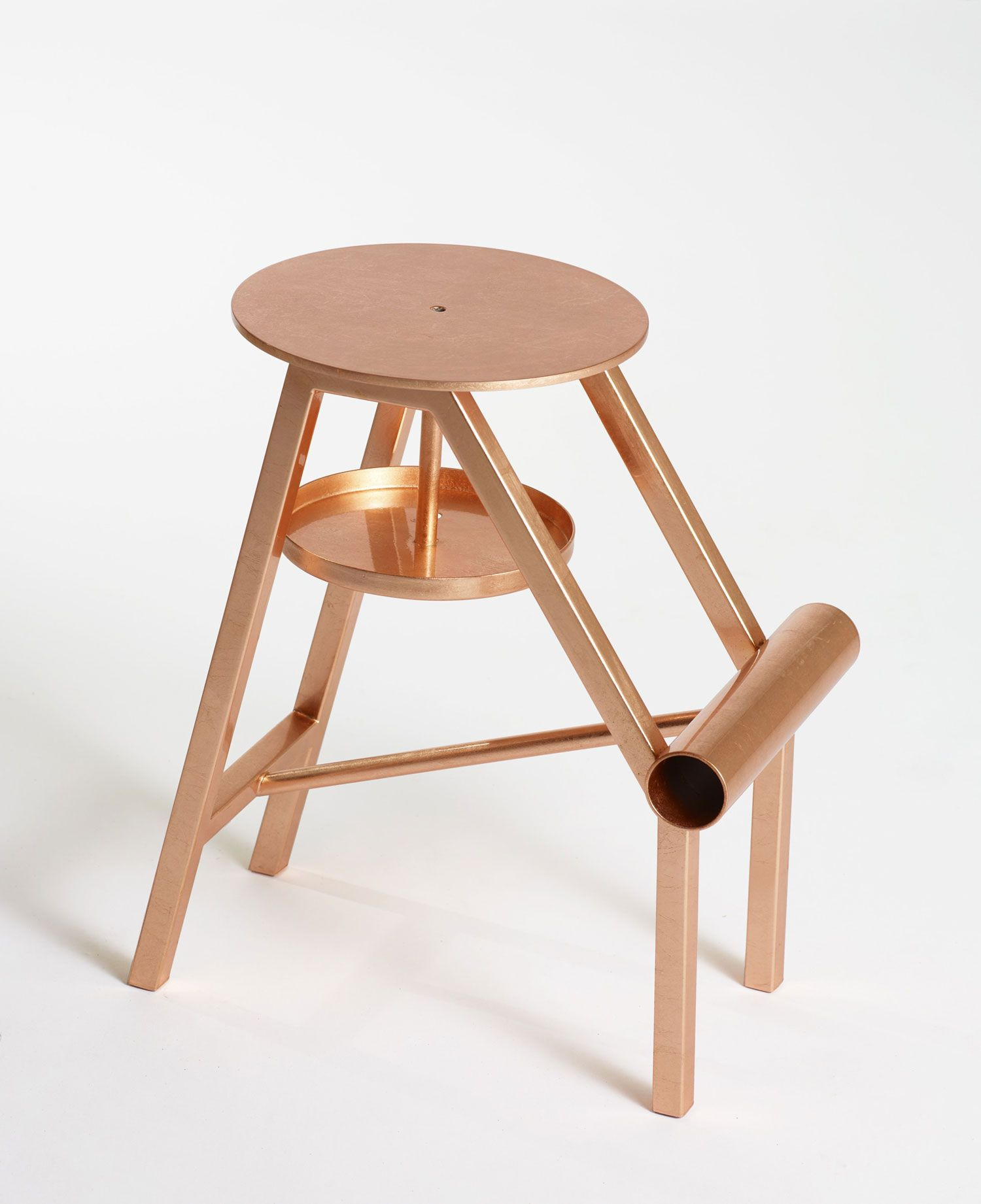 Metal Stool With Footrest Shoe Stool By Opinion Ciatti Design