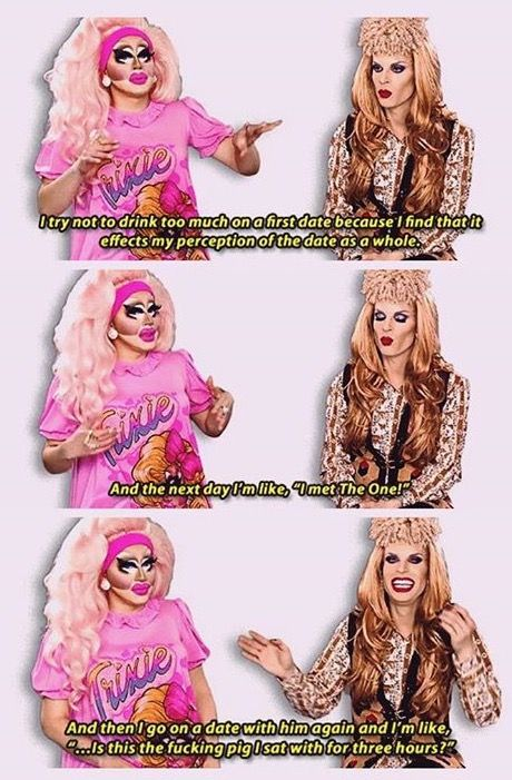 Trixie Mattel and Katya!