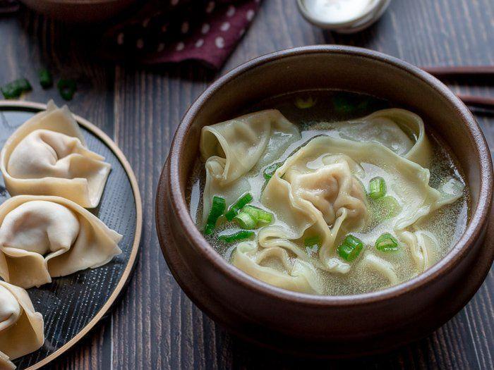 shanghai wonton soup  recipe  food recipes healthy