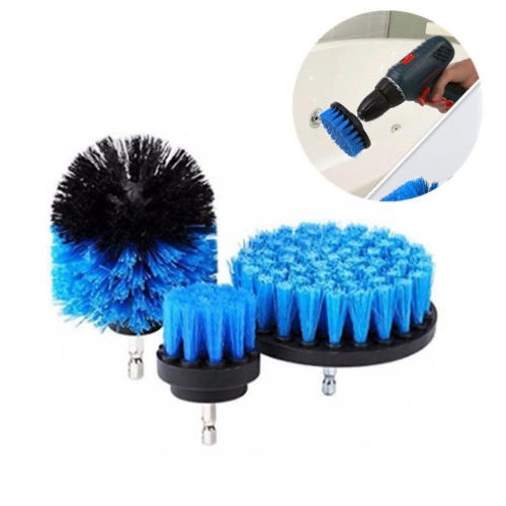 Iusun pcs drill brush grout power scrubber cleaning kit tub cleaner