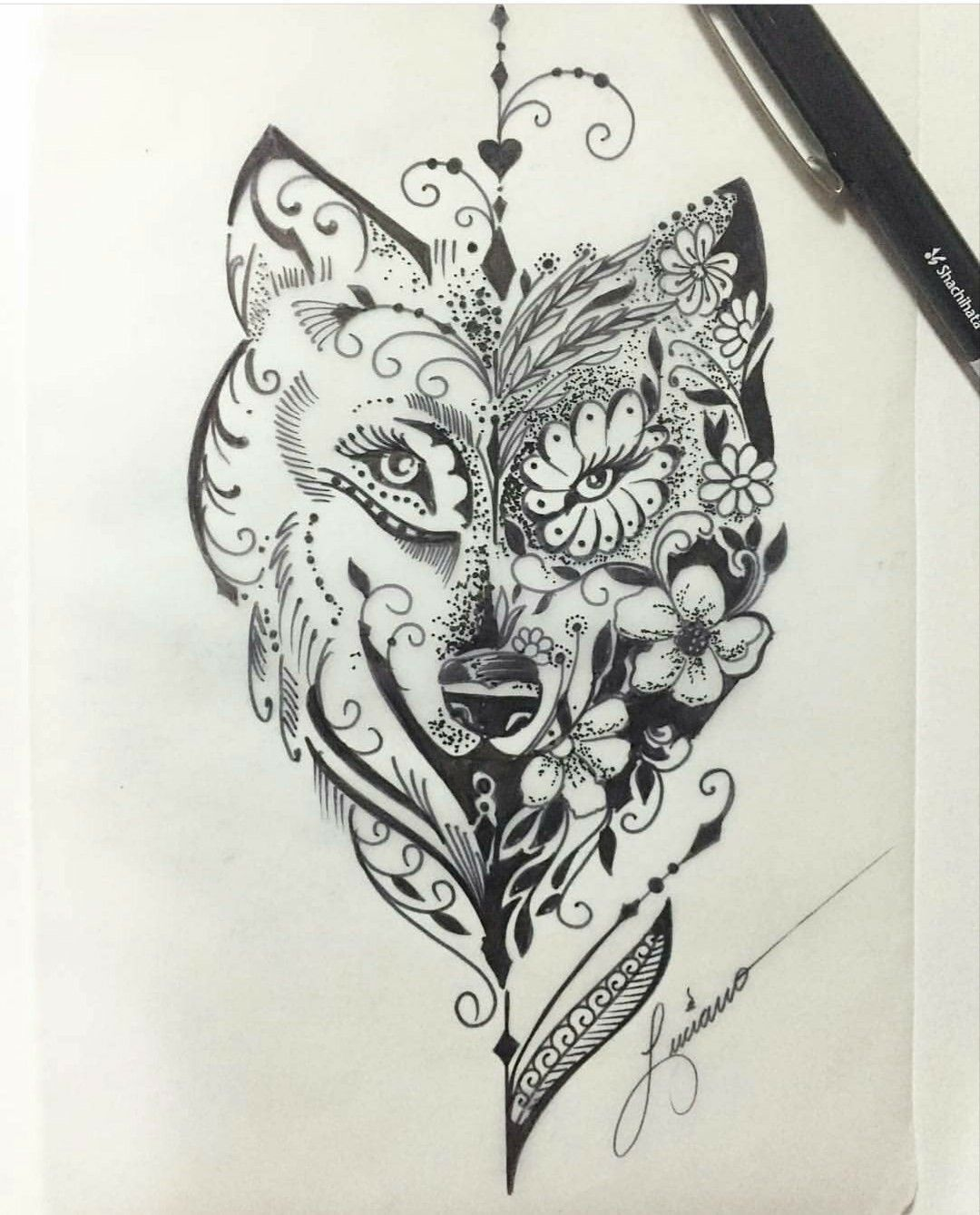 WolfTattooIdeas Tattoos, Trendy tattoos, Tattoo designs