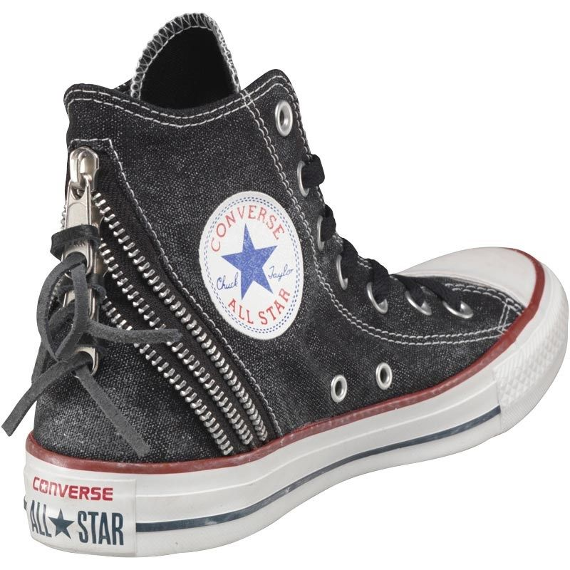 d7d7dcfbca1 Converse Womens CT All Star Hi Triple Zip Trainers Oxheart White ...