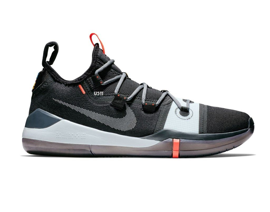 new product 6fab3 949c4 Kobe Bryant s Latest Sneaker, the Nike Kobe AD Exodus, Gets a Black Red  Look - WearTesters