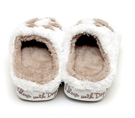 Paw Print Slippers I Sleep With Dogs Tedog Pinterest