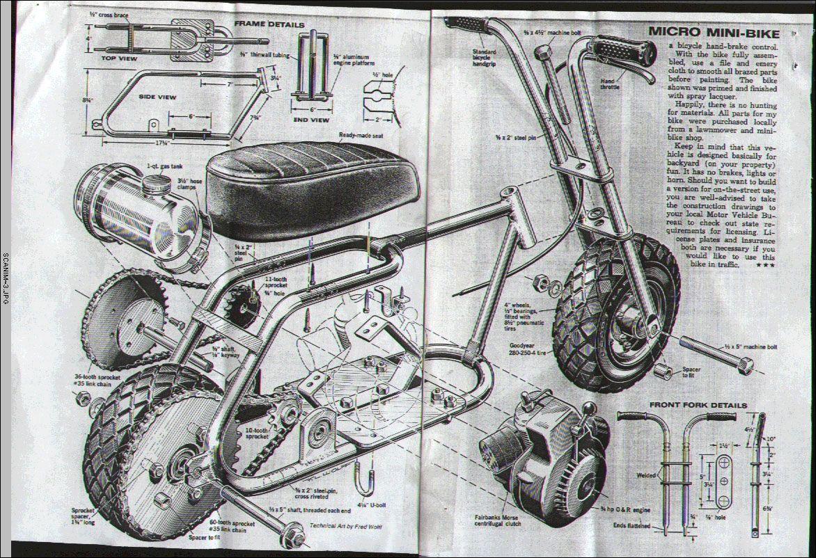 Best Plans For Home Made Mini Bike Oldminibikes Com Forum Mini