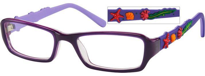 Girl's Purple 4851 Children's Acetate Full-Rim Frame | Zenni Optical Glasses-aZDpAcQ1