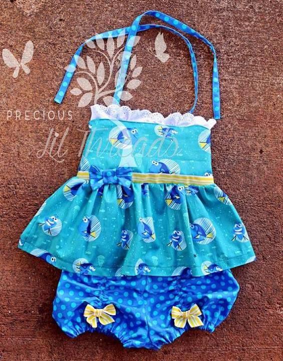 Finding Dory Toddler Dress Toddler Dress Finding Dory Dory