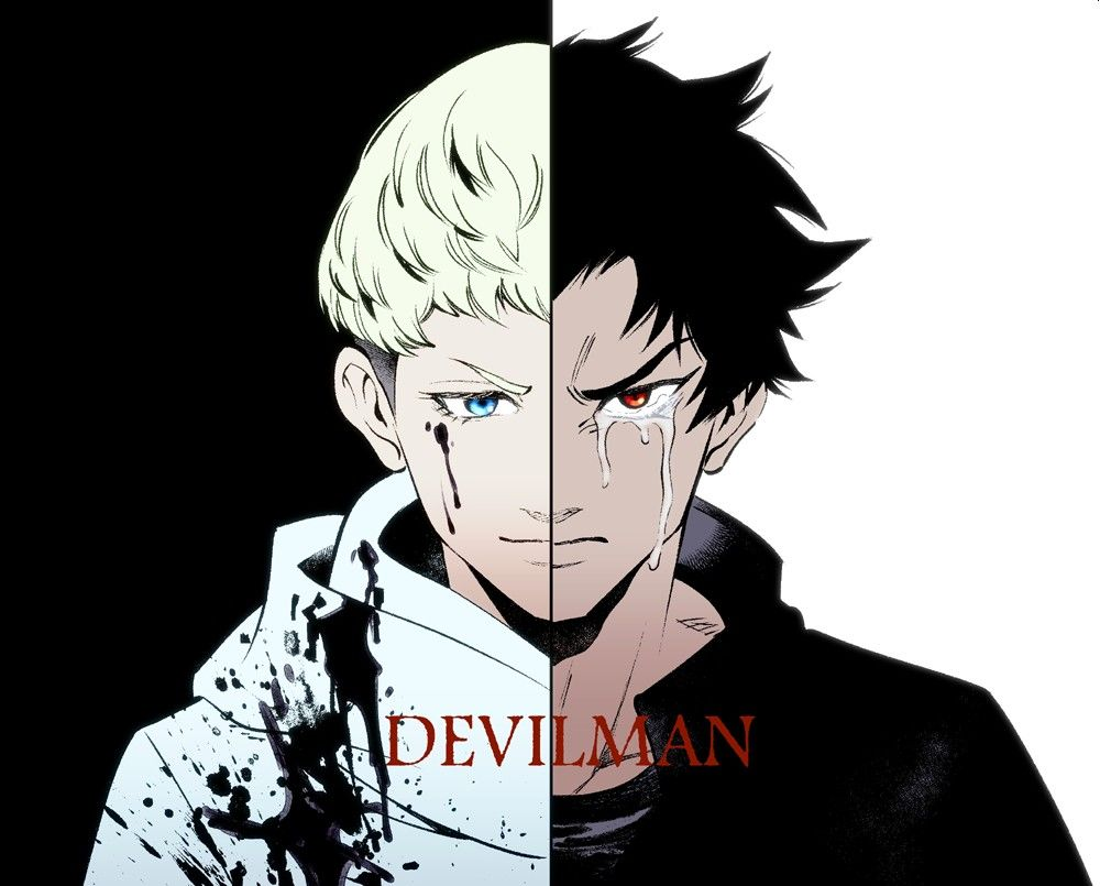 Ryo Asuka Akira Fudo Devilman Crybaby Cry Baby Cool Cartoons