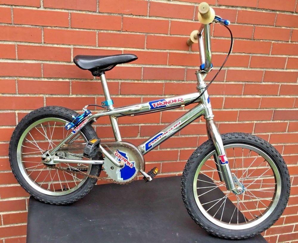 Vintage 80 S Bmx Paragon Thunder 16 Wheel Bike Old School