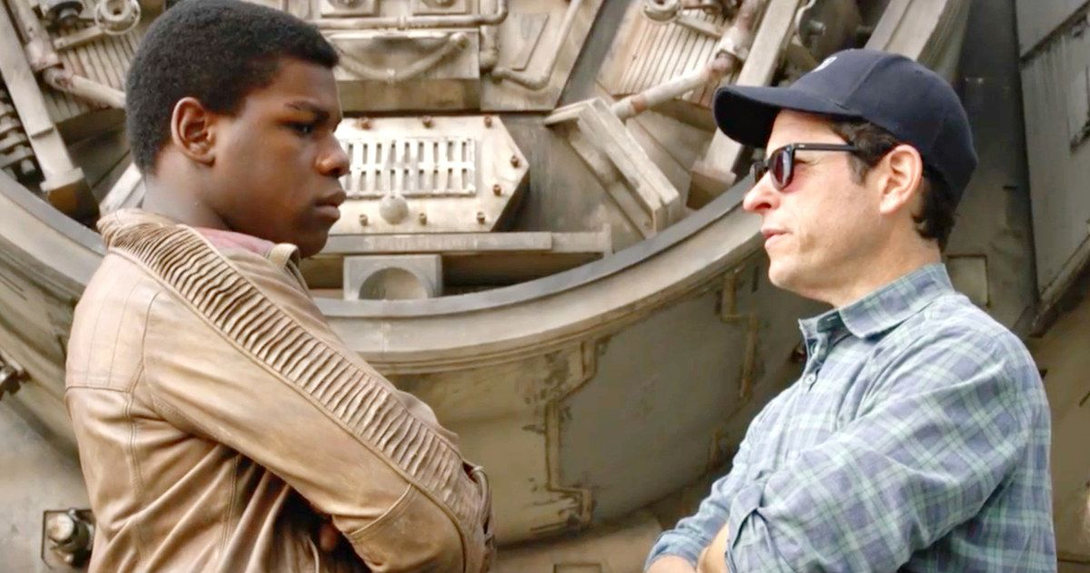 'Star Wars: The Force Awakens' Documentary Preview Reveals John Boyega's Screen Test -- Watch part of John Boyega's screen test and J.J. Abrams shed light on Captain Phasma's costume in a new trailer for a 'Star Wars' documentary. -- http://movieweb.com/star-wars-force-awakens-documentary-trailer-john-boyega-screen-test/
