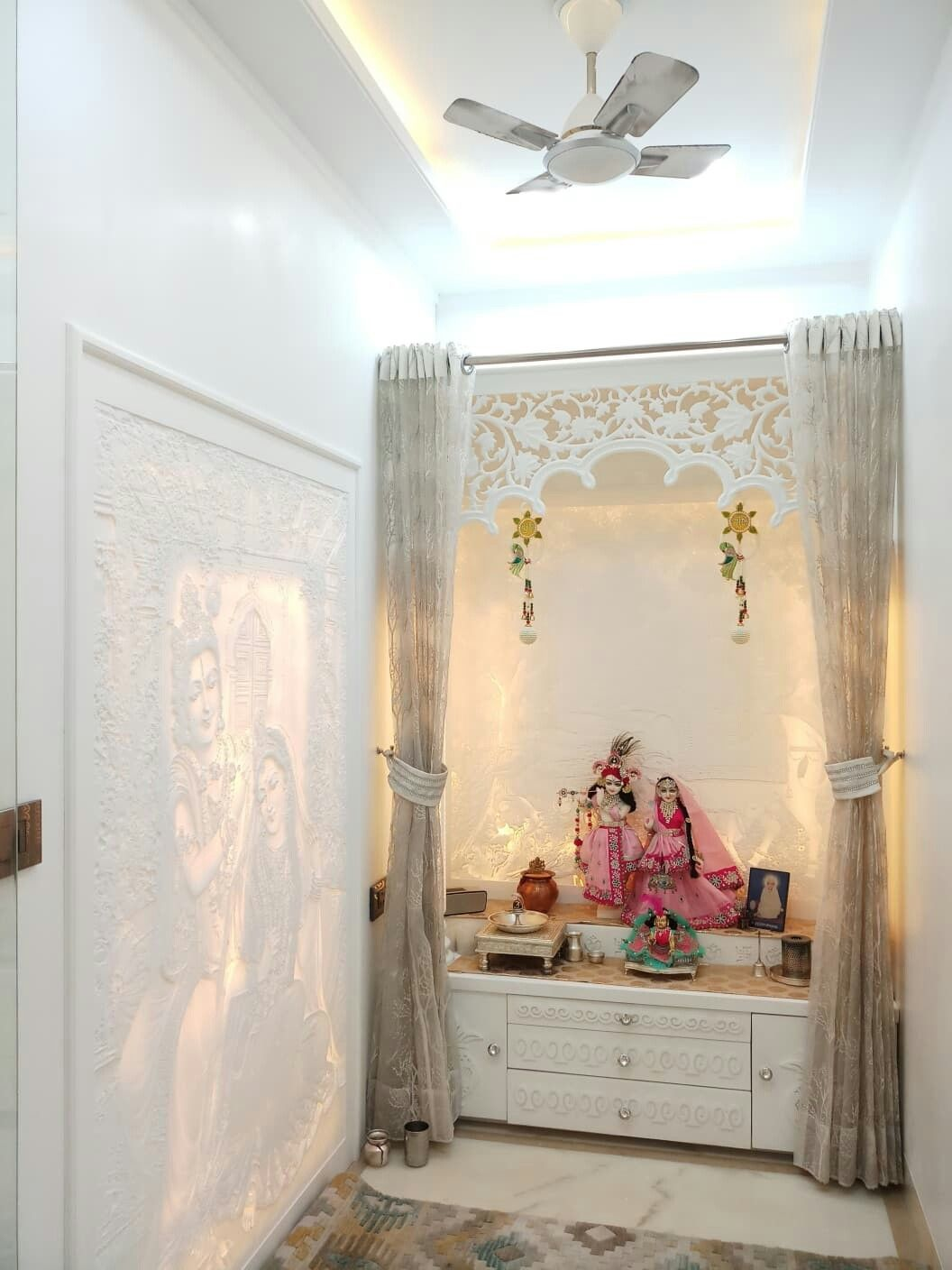 Home mandir also pin by balaji sales on corian pooja in design rh pinterest