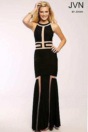 Mermaid Jersey Dress JVN22445